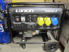 Loncin G390F, 4 Stroke, OHV, forced air-cooled Petrol Generator
